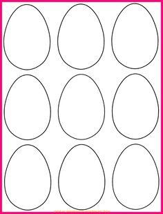 Oeuf de Pâques *4* à décorer pour un mobile