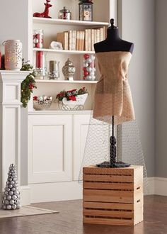 How to Make a Christmas Tree Dress /nas/content/live/thehomedepot/wp-content/themes/homedepot/page.php > > > How to Make a Christmas Tree DressGarden-fresh offers are one st Mannequin Christmas Tree, Dress Form Christmas Tree, How To Make Christmas Tree, Alternative Christmas Tree, Modern Christmas, Xmas Tree, Christmas And New Year, Christmas Tree Decorations, White Christmas