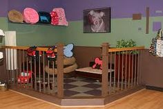 WOW! Adorable pet play space for the home. I WANT ONE!