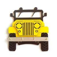 Porta Chaves Jeep Amarelo (código 2650)