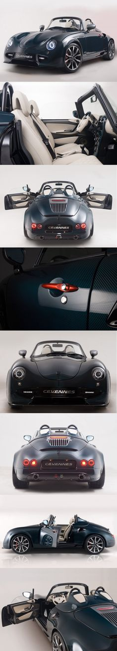 PGO Cévennes Water Snake concept great speeder inspiration http://extreme-modified.com/