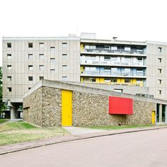 Maison du Bresil, Le Corbusier, 1959; Cité Internationale Universitaire de Paris, Pais
