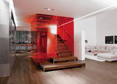 Interior design by colour