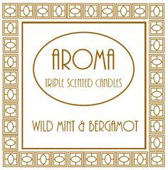 Wild Mint & Bergamot Scented Candle