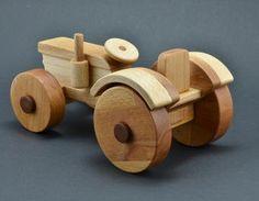 Holztraktor Holzbearbeitung,Holzspielzeug,Traktor,Kinderspielzeug,biegen,Holztraktor,Kotflügel