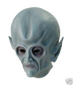 Alien Overhead Rubber Mask Adult Sci Fi Fancy Dress | eBay