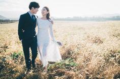 [사운드로잉's 제주도셀프웨딩촬영] 이희영 & 강하나 보기만 해도 절로 웃을 수 있는 사진.이런 사진에... Wedding Shoot, Wedding Dresses, Wedding Photography, Poses, Weeding, Bohemian, Nature, Bride Dresses, Figure Poses