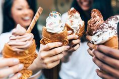 Taiyaki NYC specializes in small-batch soft serve that comes in a waffle cone made in-house.