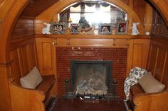 126 Best Mantels Inserts Tiles In Old Houses Images In