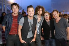 One Republic - LOVE their sound. And Ryan Tedder is a songwriting genius!!