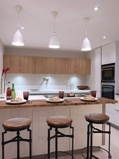 K Kitchens Ludlow room green and linen image 1 wren kitchens contour kitchen in baltic ...