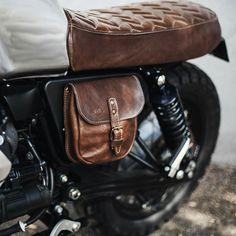Moto Guzzi Scrambler by BAAK motocyclettes Cafe Racer Honda, Cafe Racers, Cafe Racer Seat, Cafe Racer Style, Custom Cafe Racer, Cafe Racer Bikes, R Cafe, Moto Cafe, Vintage Bikes