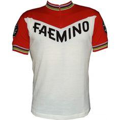 Faemino Wool Cycling Jersey