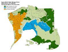 Suisun Marsh Water Management Zones