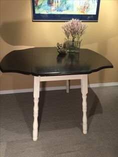 Dining Room Table With Drop Down Sides Classy Vintage 1940's Drop Leaf Table  Drop Leaf Table Leaf Table And Design Ideas