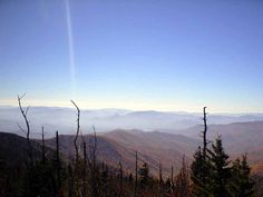 From Clingman's Dome, GSMNP
