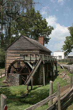 Mill At McCormick Farm, Steeles Tavern, VA