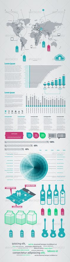 Buy Bits and Pieces of Infographics on Sales by fet on GraphicRiver. bits and pieces of infographics on sales from the world map. Cheap Web Design, Affordable Website Design, Website Design Services, Form Design, App Design, Marketing Words, Concert Flyer, Infographic Templates, Infographics Design