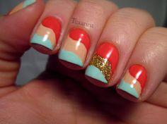 Tuxarina #nail #nails #nailart