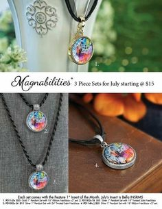 Get your first necklace for $15!!  Www.julielucas.magnabilities.com.