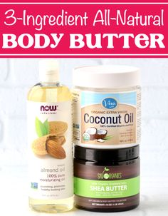 DIY Body Butter Recipes - Easy Whipped Moisturizing Lotion! This luscious moisturizer is the secret to soft, silky smooth skin! Plus... it's so SIMPLE to make it at home! Go check out the step-by-step instructions so you can make some for yourself this week! Diy Body Butter, Whipped Body Butter, Easy Butter Recipe, Extra Virgin Coconut Oil, Jar Gifts, Sweet Almond Oil, Smooth Skin, Beauty Ideas, Beauty Hacks