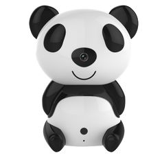 Sunsbell Cute Panda HD Wireless Remote Hidden Surveillance IP Camera Wifi Home security Spy Web Cam with Audio IR Day/Night Vision Motion Detection For Sale Wireless Baby Monitor, Wireless Ip Camera, Wireless Security, Ip Security Camera, Security Cameras For Home, Spy Camera, Video Camera, Nocturne, Wifi