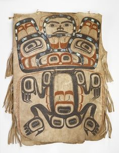 National Museum of the American Indian : Tsimshian brown bear tunic, 1800-1860. @briarpatched
