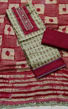 Buy Salwar Kameez Online, Salwar Suits Online, Indian Salwar Kameez, Cotton Dress Indian, Cotton Saree, Indian Block Print, Kurta Designs Women, Women's Fashion Dresses, Indian Fashion