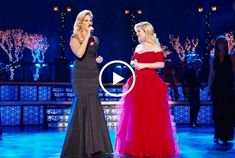 This Kelly Clarkson version of Silent Night featuring Trisha Yearwood and Reba McEntire will give you goosebumps. This is so beautiful, and these three ladies singing together are amazing. Favorite Christmas Songs, My Favorite Music, Feel Good Videos, Music Articles, Reba Mcentire, Trisha Yearwood, Amazing Songs, Christmas Music, Country Christmas