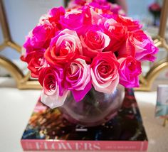 A radiant spin on the standard rose bouquet