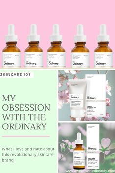 My Obsession with The Ordinary Skincare - A Well Travelled Beauty You can't miss the hype The Ordinary skincare brand has caused. Find out why I love and hate this game changing beauty brand and if you should try it! Beauty Secrets, Beauty Hacks, Beauty Products, Skin Products, Beauty Ideas, Facial Products, Makeup Products, Organic Brand, Ingrown Hair