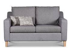 Get cosy with someone on a two-seater sofa, or take up some space and snuggle in all by yourself. Two-seater couch are a great way to add comfy seating to a Two Seater Couch, Large Sofa, Small Spaces, Sofas, Love Seat, Cushions, Lounge, Comfy, Room