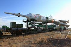 https://flic.kr/p/YJ6j57 | Baikonurin matka Baikonur_2017_09_10_0839 | Baikonur Cosmodrome area. 10th Sep 2017.  Soyuz MS 06. Roll out.  Juhani Anttonen