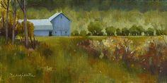 Back Way Home by Deborah Angilletta Oil ~ 6 x 12