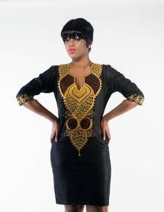 African Suri Dress by AFRICANISEDSHOP on Etsy ~African fashion, Ankara, kitenge, African women dresses, African prints, African men's fashion, Nigerian style, Ghanaian fashion ~DKK