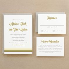 Printable Wedding Invitation Template | INSTANT DOWNLOAD | Gold Script | Edit Yourself in Word or Pages | Easy DIY | Editable Artwork Colors by SwellAndGrand on Etsy https://www.etsy.com/listing/153593059/printable-wedding-invitation-template