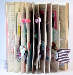 Mini Albums, Altered Books, Book Pages, Bullet Journal, Filofax, Crafts, Scrapbooking, Travel, Day Planners