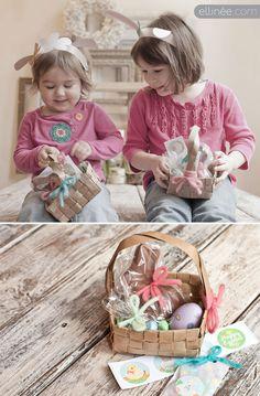 Orejitas de conejo y borrego para imprimir.