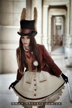 steampunk alice in wonderland cosplay - Google Search