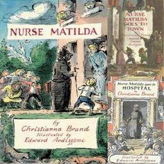 Nurse Matilda, by Christianna Brand, illustrated by Edward Ardizzone