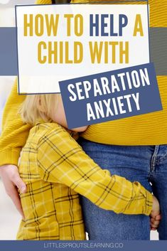 School is starting and many kids are exploring new adventures, it's a good time to talk about separation anxiety.