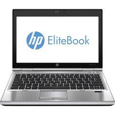 "HP - EliteBook 12.5"" Refurbished Laptop - Intel Core i5 - 8GB Memory - 750GB Hard Drive - Silver"