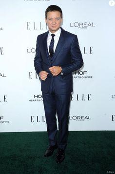 Jeremy Renner à la cérémonie des Elle Women in Hollywood Awards au Four Seasons Hotel à Beverly Hills, Los Angeles, le 24 octobre 2016