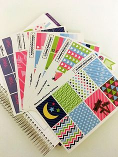 Includes six sheets of Matte or Glossy kiss- cut stickers!  ** Both the Glossy and Matte stickers are permanent (but if you work quick enough then you can re position :) **  I can change the pound sign (£) on the sampler to your choice, please state your preference in the notes at the checkout!   Stickers are made to fit the Erin Condren Vertical Planner but can be used in many other Planners!  Sheet Size: Various  Matte or Glossy finish available, to select, please use the drop down option…