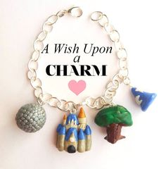 Walt Disney World Parks Polymer Clay Charm by aWishUponACharm, $30.00