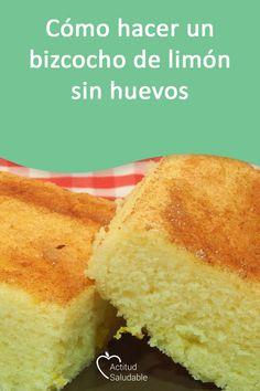 Plum Cake, Aquafaba, Cooking Recipes, Healthy Recipes, Recipe For 4, Sin Gluten, Vegan Life, Cornbread, Cupcake Cakes