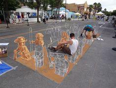 Street-art-Lego-Army-3D-chalk-drawing-1