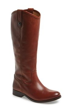 Free shipping and returns on Frye 'Melissa Button' Leather Riding Boot at Nordstrom.com. Button-accented pull tabs top a handcrafted riding boot fashioned from fine, hand-burnished leather for a marbled, vintage look. Bench-crafted by hand, Frye's 150-year-old heritage of quality leatherwork is evident in every detail.