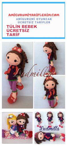 Amigurumi Tulle Baby Making - My Amigurumi Recipes Crochet Gifts, Crochet Doilies, Crochet Toys, Cute Crafts, Crafts To Make, Crafts For Kids, Knitting Blogs, Baby Knitting, Amigurumi For Beginners
