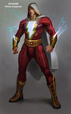 Injustice: Gods Among Us Concept Art - SHAZAM!